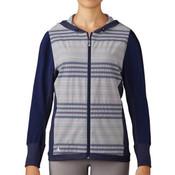 Adidas Women's Full-Zip Hoody BLUE