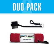 Clip Wipes Greens Towel Duo Pack C