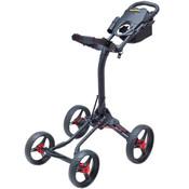 BagBoy Quad XL Push Cart RED